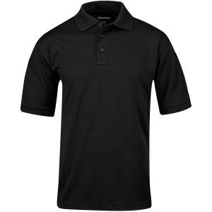 Propper Polo Uniform da uomo a mezza manica in nero