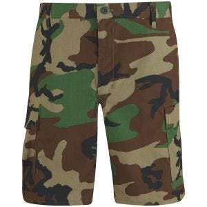 Propper pantaloni corti BDU in cotone in Woodland