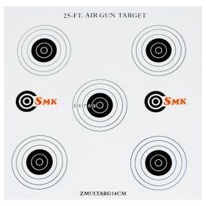 SMK bersagli in carta 14 cm (confezione da 100)