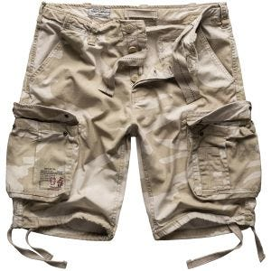 Surplus shorts vintage effetto slavato Airborne in Desert Storm