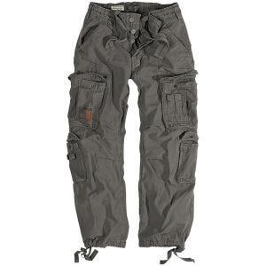 Surplus pantaloni vintage Airborne in grigio