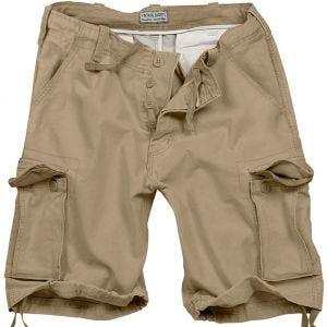 Surplus shorts vintage effetto slavato in beige
