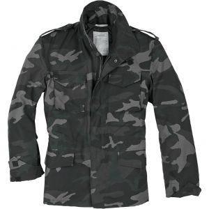 Surplus giacca da campo US M65 in Black Camo