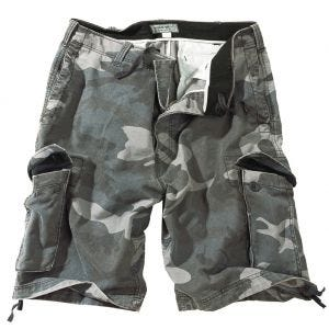 Surplus shorts vintage effetto slavato in Night Camo