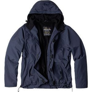 Surplus giacca a vento con zip in Navy