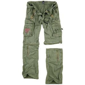 Surplus pantaloni Royal Outback in Royal Green
