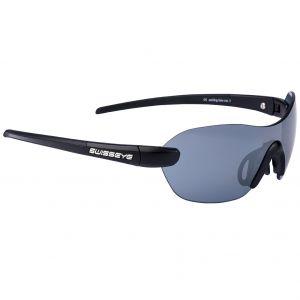 Swiss Eye occhiali da sole Horizon con montatura in nero opaco/nero