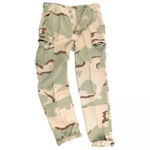 Teesar pantaloni BDU in ripstop prelavato in Desert a 3 colori