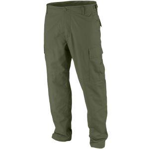 Teesar pantaloni BDU in ripstop in verde oliva