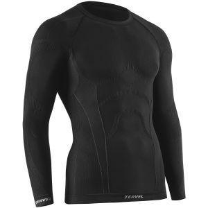 Tervel maglia a maniche lunghe Comfortline in nero
