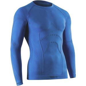 Tervel maglia a maniche lunghe Comfortline in blu