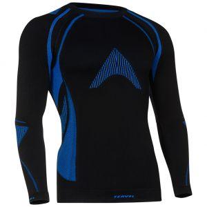 Tervel maglia a maniche lunghe Optiline MOD-02 in nero / blu