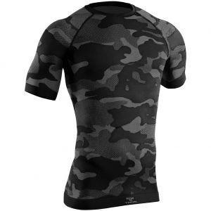 Tervel maglia tattica a maniche corte Optiline Light in nero / grigio