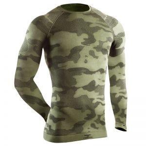 Tervel maglia tattica a maniche lunghe Optiline in Military / grigio
