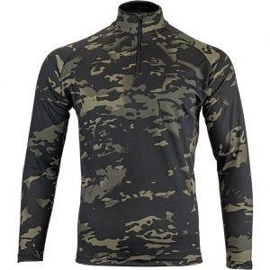 Viper maglia Armour a maniche lunghe in Mesh-Tech V-Cam nero
