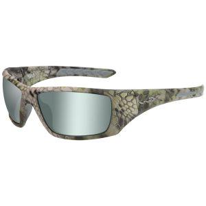Wiley X occhiali WX Nash con lenti polarizzate verde platino e struttura in Kryptek Altitude