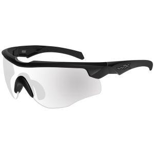 Wiley X occhiali WX Rogue COMM con lenti trasparenti e struttura nero opaco