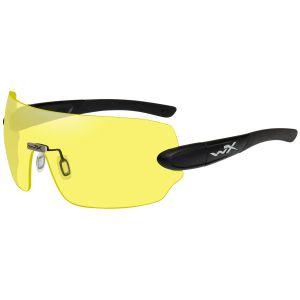 Wiley X occhiali WX Detection con lenti gialle + arancioni + viola e struttura in nero opaco