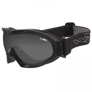 Wiley X occhiali protettivi Nerve con lenti grigie fumé + trasparenti e struttura in nero opaco