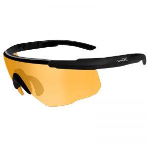 Wiley X occhiali Saber Advanced com lenti ruggine chiaro e struttura in nero opaco