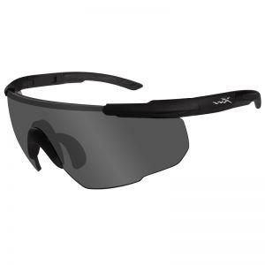 Wiley X occhiali Saber Advanced com lenti fumé grigie e struttura in nero opaco