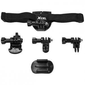 Xcel kit casco in nero