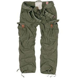 Surplus pantaloni vintage Premium in verde oliva