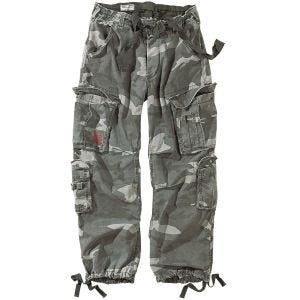 Surplus pantaloni vintage Airborne in Night Camo