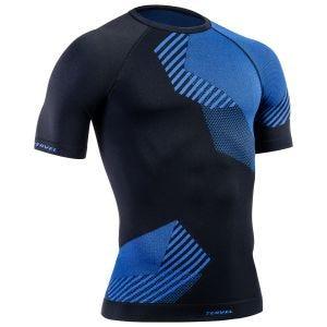 Tervel maglia maniche corte Optiline in nero / blu