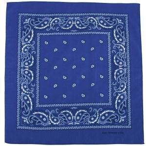 MFH bandana in cotone Royal White