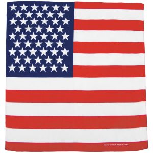 MFH bandana in cotone bandiera USA