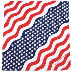 MFH bandana in cotone Stars and Stripes