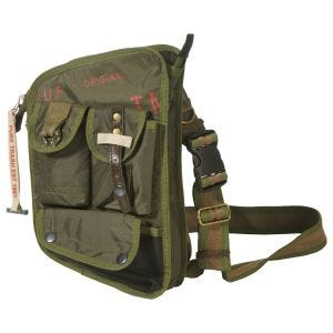 Pure Trash borsa a spalla in OD Green