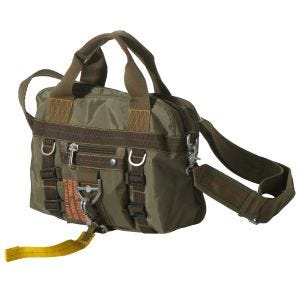 Pure Trash borsa a mano small in OD Green