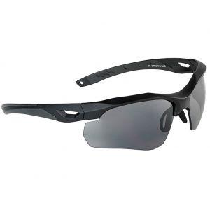 Swiss Eye occhiali da sole Skyray - lenti fumo + trasparenti / montatura in gomma nera