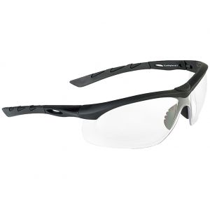 Swiss Eye occhiali da sole Lancer - lenti trasparenti / montatura in gomma nera