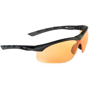 Swiss Eye occhiali da sole Lancer - lenti arancioni / montatura in gomma nera