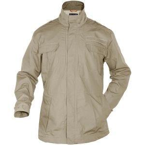 5.11 giacca Taclite M-65 in TDU Khaki