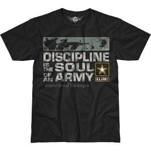 7.62 Design T-Shirt Army Discipline Battlespace in nero