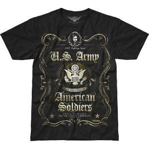 7.62 Design T-Shirt Army Fighting Spirit Battlespace in nero