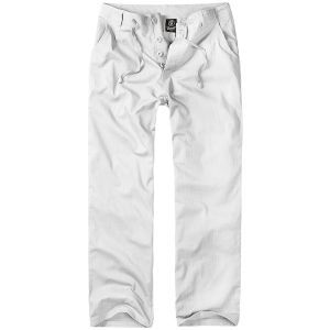 Brandit Brady Trousers White