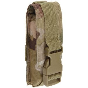 Brandit astuccio MOLLE multiplo medium in Tactical Camo