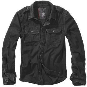 Brandit maglia a maniche lunghe Vintage in nero