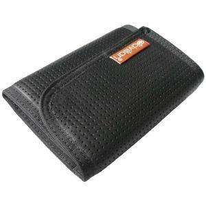 Civilian portafoglio in pelle a tre facciate Tactical con clip in nero