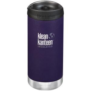 Klean Kanteen TKWide 355ml Insulated Bottle Cafe Cap 2.0 Kalamata