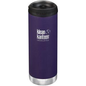 Klean Kanteen TKWide 473ml Insulated Bottle Cafe Cap 2.0 Kalamata