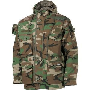 MFH giacca Commando Smock in Woodland