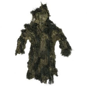 Mil-Tec Ghillie Parka Anti-Fire Basic Woodland