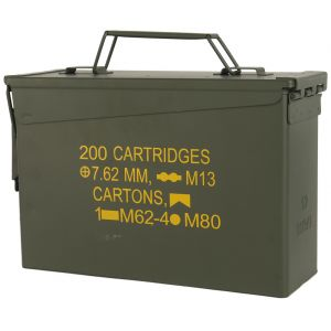 Mil-Tec Box munizioni US M19A1 cal,30 in verde oliva