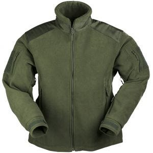 Mil-Tec giacca Delta in pile in verde oliva